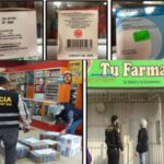 Ñaña – Lima. Detienen a dos mujeres en flagrancia delictiva por comercializar medicamentos